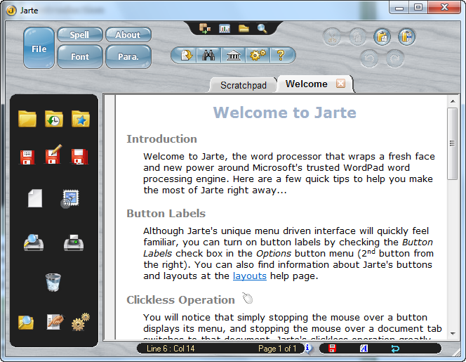 Jarte 5.1 Full Interface